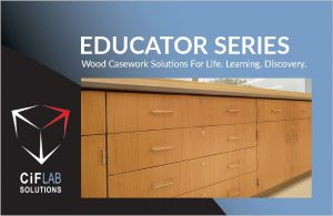 Click to download the Educator Series Casework Line  PDF