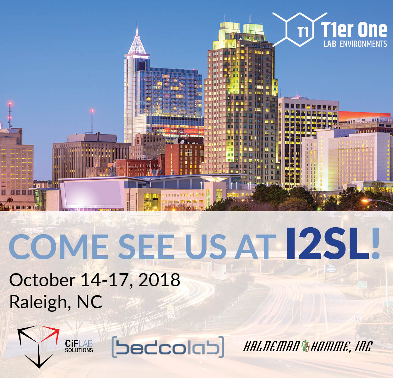 CiF Lab Solutions is Exhibiting at I2SL Annual Conference 2018