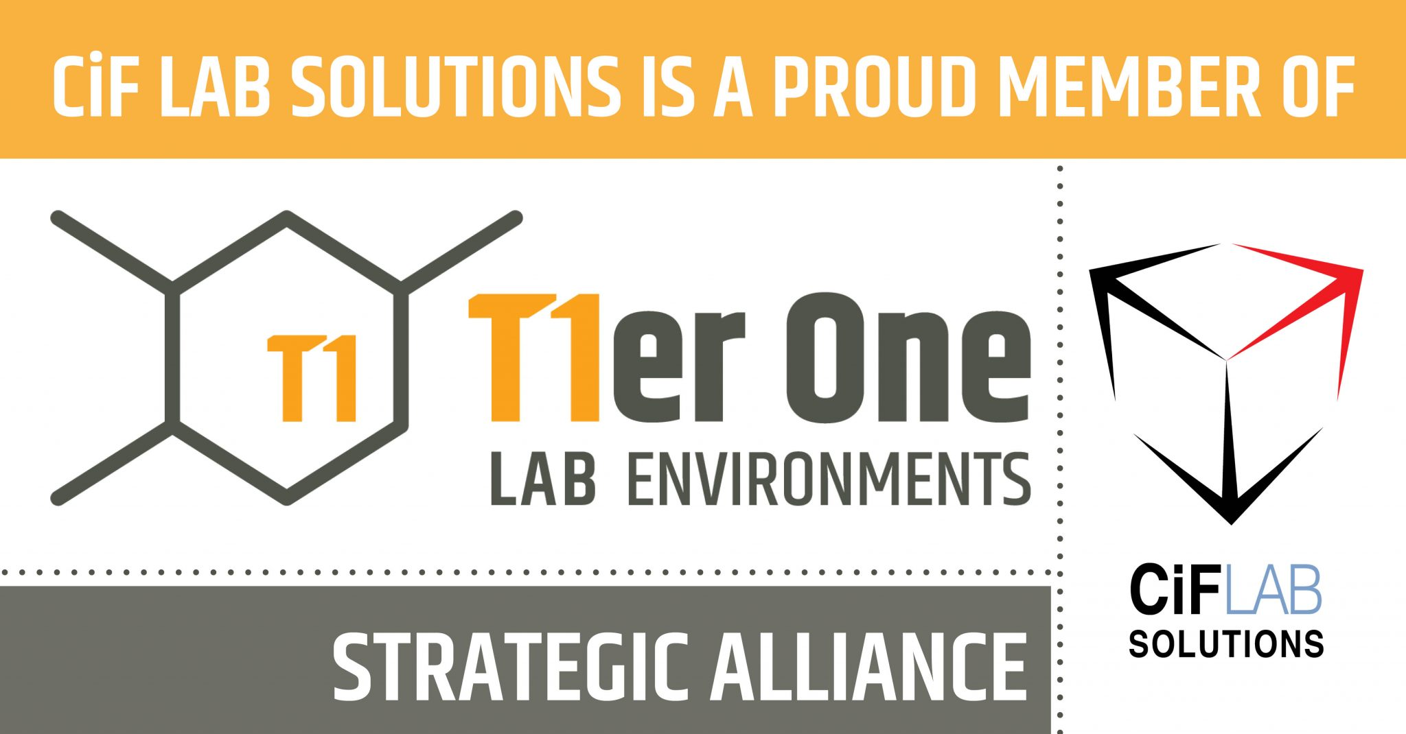 CiF Proud Tier One Alliance Member!